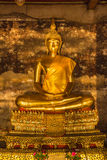 Bello Buddha dorato Immagine Stock