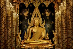 Bello Buddha in Tailandia Fotografia Stock