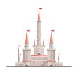 Bello castello di fantasia Fotografia Stock Libera da Diritti