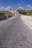 Bello castello medioevale Immagini Stock Libere da Diritti