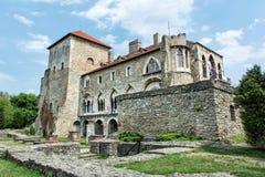 Bello castello in Tata, Ungheria, tema architettonico immagine stock libera da diritti