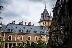 Bello castello fotografia stock