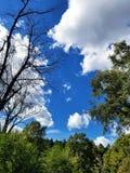 Bello cielo fotografia stock libera da diritti