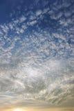 Bello cielo fotografie stock