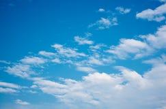 Bello cielo blu Fotografie Stock Libere da Diritti