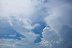 Bello cielo blu Immagine Stock Libera da Diritti
