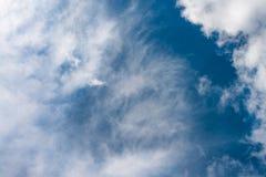 Bello cielo blu e nuvole bianche Immagini Stock Libere da Diritti