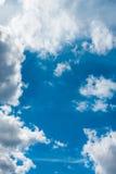 Bello cielo blu e nuvole bianche Immagini Stock