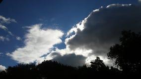 Bello cielo di giorno Immagini Stock Libere da Diritti