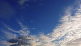 Bello cielo di sera Timelapse di alta qualità 4k, non uccelli archivi video