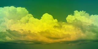 Bello cloudscape fotografia stock