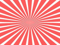 Bello concetto del fondo per il circo con i nastri circolari rossi illustrazione vettoriale