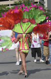 Bello costume variopinto del Indy Pride Parade Immagine Stock Libera da Diritti