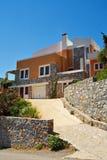 Bello cottage Immagine Stock