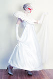 Bello Creative Makeup di modello femminile Fotografie Stock Libere da Diritti