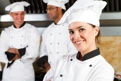 Bello cuoco unico immagine stock