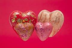 Bello cuore quattro Fotografie Stock Libere da Diritti