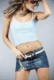 Bello dancing femminile immagini stock libere da diritti