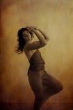 Bello danzatore fotografia stock