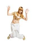 Bello danzatore caldo Immagine Stock Libera da Diritti