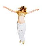 Bello danzatore caldo Fotografia Stock Libera da Diritti