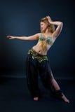 Bello danzatore di pancia Immagine Stock