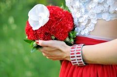 Bello dei fiori artificiali Immagini Stock Libere da Diritti