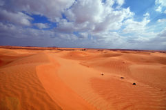 Bello deserto Fotografie Stock Libere da Diritti