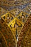 Bello dettaglio della cattedrale di Vank a Ispahan, Iran Fotografie Stock Libere da Diritti