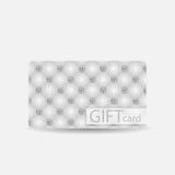 Bello Diamond Gift Card Design astratto Fotografia Stock