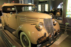 Bello esempio del veicolo esotico su esposizione, museo dell'automobile, Saratoga Springs, New York, 2015 Fotografia Stock