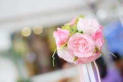 Bello evento dentellare di cerimonia nuziale del fiore Fotografia Stock Libera da Diritti