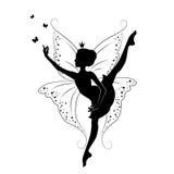 Bello fairy illustrazione vettoriale