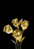 Bello fiore dorato illustrazione vettoriale