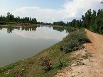 Bello fiume di Jehlum Immagine Stock Libera da Diritti