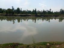Bello fiume di Jehlum Immagini Stock Libere da Diritti