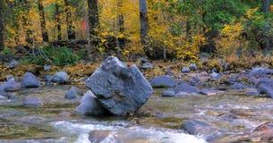 Bello fiume di Wenatchee - di Washington Autumn Nature Scenery immagine stock libera da diritti
