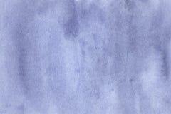 Bello fondo blu dell'acquerello Fotografie Stock Libere da Diritti
