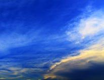 Bello fondo del bello cielo blu Fotografia Stock Libera da Diritti