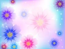 Bello fondo del fiore Fotografia Stock