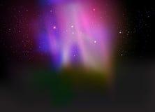 Bello fondo dell'aurora Fotografia Stock Libera da Diritti
