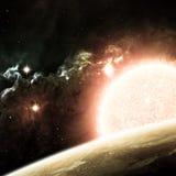 Bello fondo dello spazio. Elementi di questa immagine Fotografia Stock Libera da Diritti