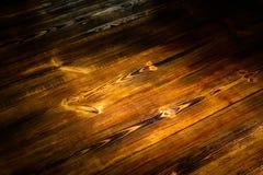 Bello fondo di legno, vista marrone di legno del piano d'appoggio, spazio rustico naturale della copia immagini stock libere da diritti
