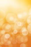 Bello fondo dorato defocused Fotografia Stock Libera da Diritti