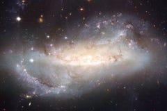 Bello fondo infinito dell'universo con la nebulosa e le stelle illustrazione vettoriale