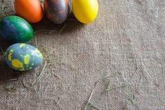Bello fondo per la settimana di Pasqua Fotografia Stock