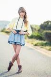 Bello fotografo alla moda Fotografia Stock