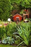 Bello frammento esteriore del giardino Fotografie Stock