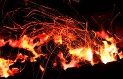 Bello fuoco Fotografia Stock Libera da Diritti