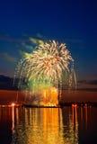 Bello fuoco d'artificio immagine stock libera da diritti
